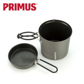 プリムス ライテックトレックケトル&パン PRIMUS P-731722 調理器具 クッカー 鍋 コッヘル セット キャンプ アウトドア 【正規品】