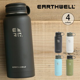 アースウェル 32oz バキュームボトル クーラーオープナーキャップ EARTHWELL 水筒 ボトル マグボトル タンブラー グロウラー アウトドア 【正規品】