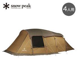 スノーピーク エントリー2ルーム エルフィールド snow peak ENTRY 2 ROOM ELFIELD TP-880 テント 2ルーム 4人用 キャンプ アウトドア 【正規品】