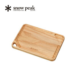 snow peak スノーピーク MYプレート 天然木 ウッド カントリー風 アウトドア バーベキュー BBQ まな板 吊るせる 調味料 チョーク TW-040