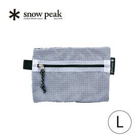 スノーピーク スーパーメッシュポーチL snow peak Super Mesh Pouch L ポーチ 小物 整理 アウトドア キャンプ UG-509 <2018 春夏>