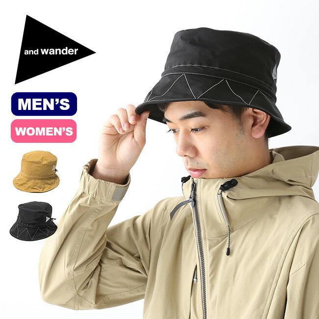 アンドワンダー 60/40 クロスハット and wander 60/40 cloth hat メンズ レディース ユニセックス 帽子 ハット <2019 春夏>