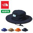 ノースフェイス ホライズンハット【キッズ】 THE NORTH FACE Kids' Horizon Hat ハット 帽子 撥水 UVカット キッズ …
