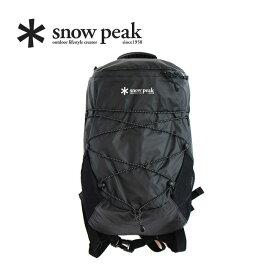 【キャッシュレス 5%還元対象】スノーピーク アクティブバックパックタイプ3 snow peak Active Backpack Type03 ONE Black ウェア バッグ リュック 15L UG-673 <2019 春夏>