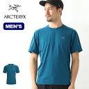 アークテリクス モータスクルーS/S メンズ ARCTERYX MOTUS CREW S/S Tシャツ 半袖 ショートスリーブT ベースレイヤー …