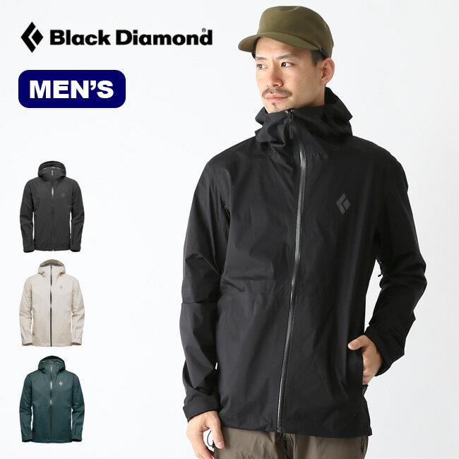 ブラックダイヤモンド ストームラインストレッチレインシェル Black Diamond STORMLINE STRETCH RAIN SHELL メンズ ジャケット レインジャケット アウター BD65000 <2019 春夏>