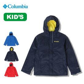 88237409a76f4 コロンビア ウォータータイトジャケット Columbia Watertight Jacket ジャケット キッズ 子供 レインジャケット レインパーカ  雨具 パーカ