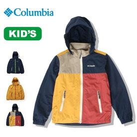 コロンビア ウィルスアイルユースジャケット Columbia Wills Isle Youth Jacket 子ども キッズ 子供 ジャケット ウィンドシェル シェルジャケット アウター PY3014 <2019 春夏>