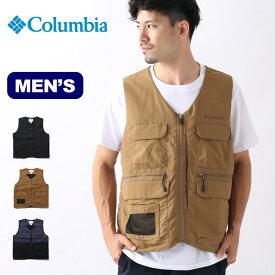 コロンビア ヴィドラ2ベスト Columbia Vidora II Vest メンズ ベスト チョッキ 防寒着 インサレーション ポケットベスト PM3439 <2019 春夏>