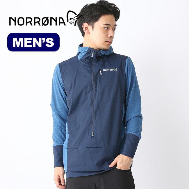ノローナ ビィティフォーン アルファフーディシャツ メンズ Norrona bitihorn Alpha Hoodie Shirt (M) トップス プルオーバー 2608-19 <2019 春夏>