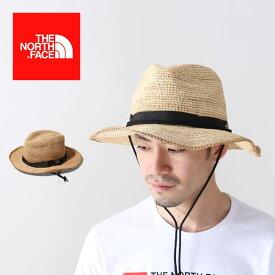 ノースフェイス ラフィアハット THE NORTH FACE Raffia Hat 帽子 ハット NN01554 <2019 春夏>