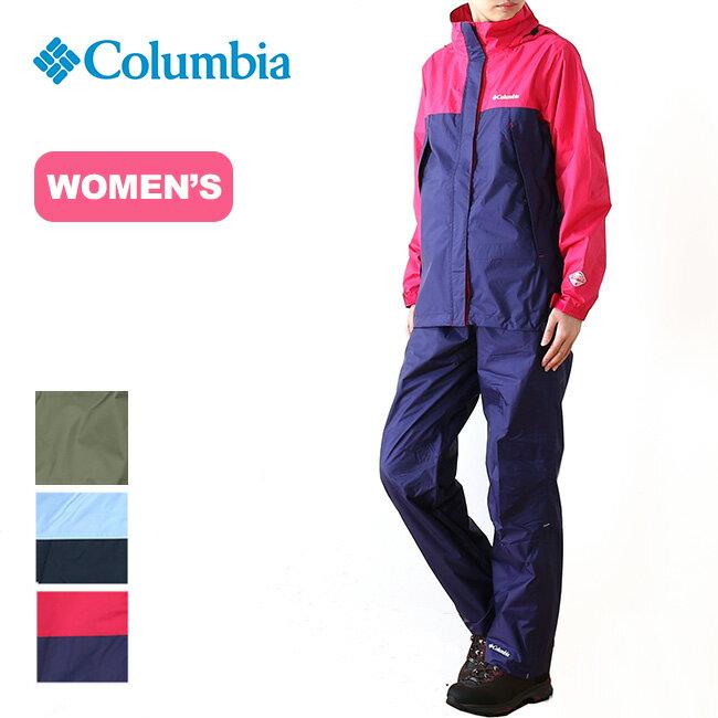 コロンビア シンプソンサンクチュアリ【ウィメンズ】レインスーツ Columbia Simpson Sanctuary Women's Rainsuit レディース レインスーツ 上下セット <2019 春夏>