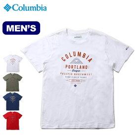 コロンビア リーザントレイルTシャツ Columbia Leathan Trail Tee メンズ トップス Tシャツ 半袖 <2019 春夏>