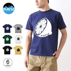 カブー レモンTee KAVU Lemon Tee メンズ Tシャツ トップス 半袖 19820820 <2019 春夏>