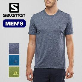 サロモン エクスプローラピケSS Tee メンズ SALOMON EXPLORE PIQUE SS TEE M Tシャツ トップス 半袖 トレラン <2019 春夏>
