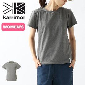 カリマー フレックス SR ウィメンズ S/S クルー karrimor flex SR W's S/S crew Tシャツ 半袖 ショートスリーブTアウトドア 【正規品】