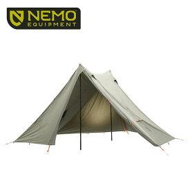 ニーモ ヘキサライト 6P エレメント NEMO HEXALITE ELEMENT 6P NM-HEX-6P-EL ツーポールシェルター 6人用 大型テント タープ キャンプ アウトドア <2020 春夏>