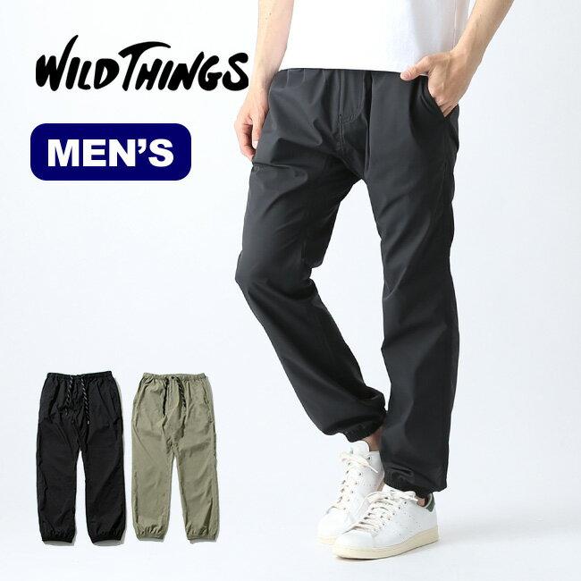 ワイルドシングス シングスイージーリブパンツ WILD THINGS THINGS EASY RIB PANTS メンズ パンツ ロングパンツ WT19026AD <2019 春夏>