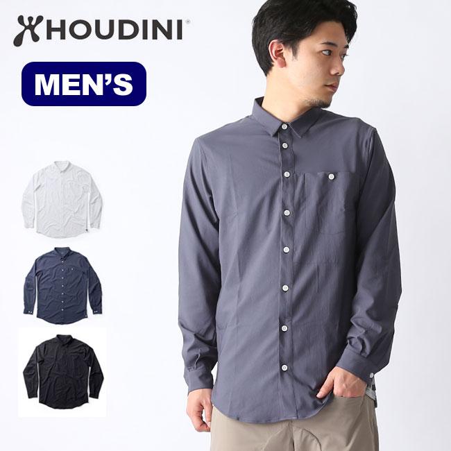 フーディニ メンズ ロングスリーブシャツ HOUDINI Longsleve Shirt 長袖シャツ シャツ 男性 <2019 春夏>