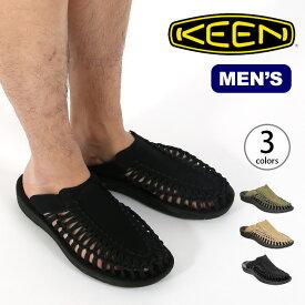 キーン ユニーク スライド KEEN UNEEK SLIDE メンズ サンダル スリッポン 靴 カジュアルサンダル <2019 春夏>