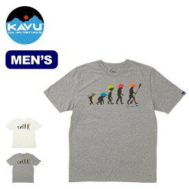 カブー バックトゥーネイチャーTee KAVU Back To Nature Tee メンズ 19820426 Tシャツ トップス 半袖 <2020 春夏>