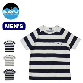 カブー アルカイボーダーTee KAVU Alki Border Tee メンズ Tシャツ トップス 半袖 19820414 <2019 春夏>
