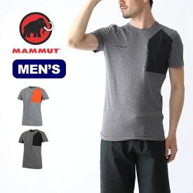 マムート クラッシアノポケットTシャツ メンズ MAMMUT Crashiano Pocket T-Shirt Men Tシャツ カットソー トップス 1017-00920 <2019 春夏>