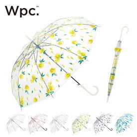 ワールドパーティー プラスチックアンブレラ Wpc. Plastic umbrella ビニール傘 雨傘 長傘 レモン 花 バンダナ 月 <2019 春夏>