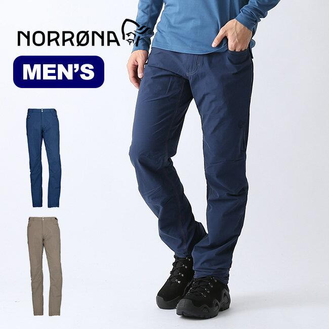 ノローナ スヴァルバール ライトコットンパンツ メンズ Norrona svalbard light cotton Pants パンツ ボトムス ロングパンツ テーパード 2421-19 <2019 春夏>