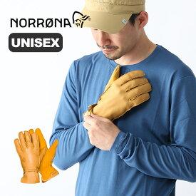 ノローナ スヴァルバール レザーグローブ Norrona svalbard leather Gloves ユニセックス 手袋 グローブ 登山 2412-19 <2019 春夏>
