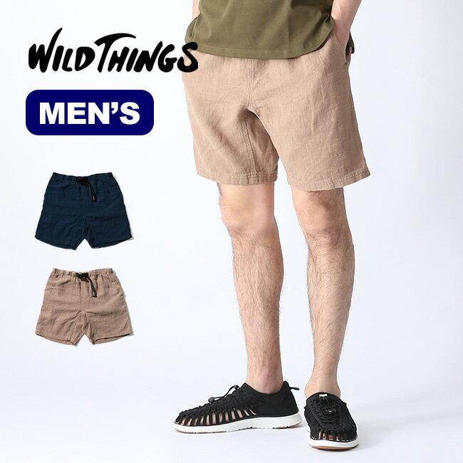 ワイルドシングス C/L リバーショーツ WILD THINGS C/L RIVER SHORTS メンズ ショートパンツ 短パン WT19025AD <2019 春夏>