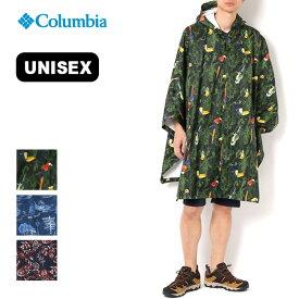 コロンビア スペイパインズポンチョ Columbia Spey Pines Poncho メンズ レディース ユニセックス パッカブル レインウェアトレッキング 登山 雨具 カッパ 合羽 <2019 春夏>