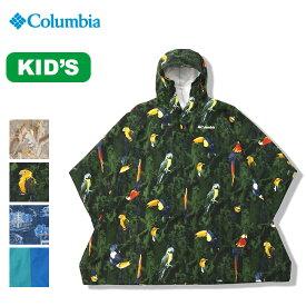 コロンビア スペイパインズユースポンチョ Columbia Spey Pines Youth Poncho ユース キッズトップス アウター ウエア 上着 ウェア 服 レインウェア <2019 春夏>