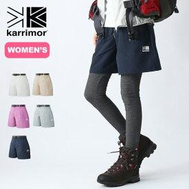 【キャッシュレス 5%還元対象】カリマー トライトンライトキュロットスカート【ウィメンズ】karrimor triton light culottes skirt (woman) 短パン ショートパンツ 半ズボン レディース <2019 春夏>