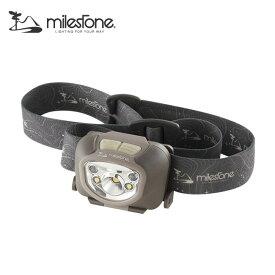 マイルストーン アドバンスモデル MS-B7 MILESTONE Advanced Model MS-B7 ヘッドライト ヘッドランプ LEDライト 照明 キャンプ 防災 <2019 春夏>