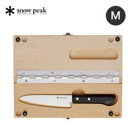 スノーピーク マナイタセットM snow peak Chopping Board M CS-207 調理器具 包丁 まな板 折りたたみ アウトドア キャンプ バーベキュー 【正規品】