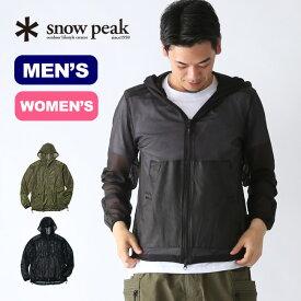 スノーピーク インセクトシールドパーカ snow peak InsectShieldParka ウェア メンズ レディース トップス ジャケット パーカー 虫対策 JK-19SU111 <2019 春夏>