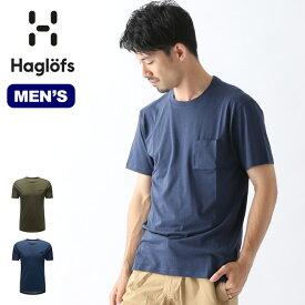 【キャッシュレス 5%還元対象】ホグロフス ボダーナSS TEE HAGLOFS BODARNA SS TEE メンズ Tシャツ 半袖 ショートスリーブ トップス 604238 <2019 春夏>