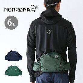 ノローナ ビィティフォーンヒップパック 6L Norrona bitihorn Hip Pack 6L バック ヒップバッグ ウエストバッグ 4391-15 <2019 春夏>