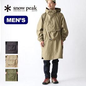 スノーピーク FRポンチョ snow peak fire resistant poncho メンズ アウター ポンチョ コート 焚き火 難燃素材 JK-19SU013 <2019 春夏>
