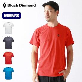 ブラックダイヤモンド パルスティー Black Diamond PULSE TEE メンズ BD67090 Tシャツ 半袖 ショートスリーブ アウトドア 春夏