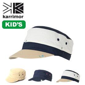 カリマー ベンチレーションキャップ ST + d キッズ karrimor ventilation cap ST(kids) キッズキャップ 帽子 子供用 幼児 サンキャップ <2019 春夏>