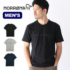 ノローナ /29 コットンIDTシャツ メンズ Norrona /29 cotton ID T-Shirt (M) メンズ Tシャツ トップス ロゴT 3402-19 <2019 春夏>