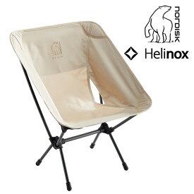 ノルディスク ノルディスク×ヘリノックスチェア NORDISK Nordisk ✕ Helinox Chair イス 折りたたみチェア コラボ商品 コラボレーション キャンプ アウトドア おうちキャンプ 庭キャンプ ベランピング 【正規品】