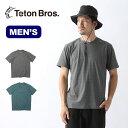 ティートンブロス ベイパーTee TetonBros Vapor Tee Tシャツ 半袖 メンズ <2019 春夏>