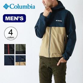 【キャッシュレス 5%還元対象】コロンビア ヴィザボナパスジャケット Columbia vizzavona pass jacket メンズ アウター ジャケット トップス <2019 秋冬>