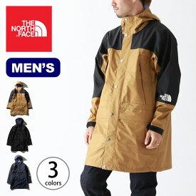 ノースフェイス マウンテンレインテックスコート THE NORTH FACE Mountain Raintex Coat メンズ NP11940 トップス アウター コート レインコート ロングコート 防水 アウトドア <2019 秋冬>