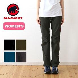 マムート ソフテック トレッカーズパンツ MAMMUT SOFtech TREKKERS Pants ウィメンズ レディース パンツ ロングパンツ トレッキングパンツ sp19ss
