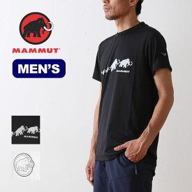 マムート QDアジリティーTシャツ メンズ 1017-10062 MAMMUT QD AEGILITY T-Shirt Men トップス カットソー Tシャツ sp19ss