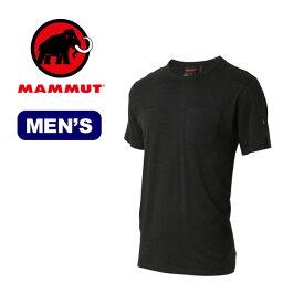 マムート コットンポケットTシャツ メンズ MAMMUT Cotton Pocket T-Shirt Men トップス ティーシャツ 半袖 ショートスリーブ ポケット 登山 アウトドア sp19ss